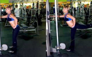 Упражнения для ягодиц в тренажерном зале: как накачать попу девушке в зале