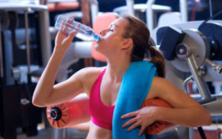 Вода во время и после тренировок – почему это так важно?