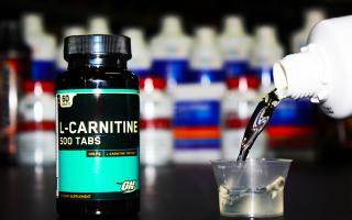 L-карнитин: инструкция по применению, как принимать для похудения женщинам и мужчинам