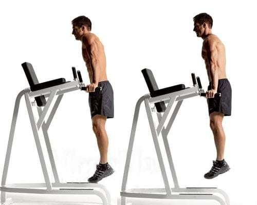 Упражнение шраги с гантелями, со штангой и на брусьях