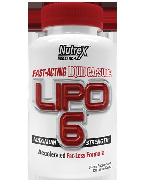 Жиросжигатели Липо 6 (lipo 6) от nutrex: состав, преимущества, как принемать