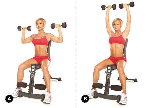 Лучшие упражнения девушкам для груди в тренажерном зале.
