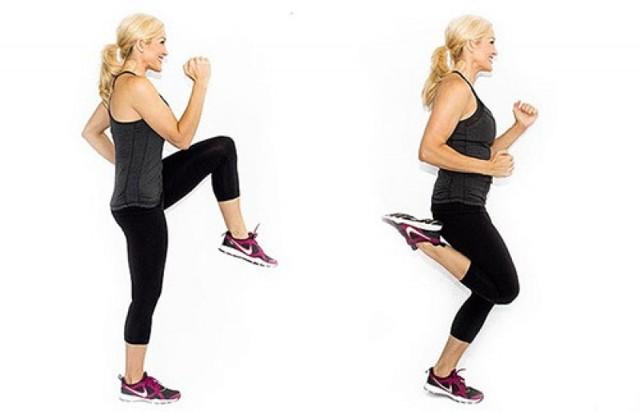 Бег на месте дома для похудения, сколько калорий сжигает, польза упражнения