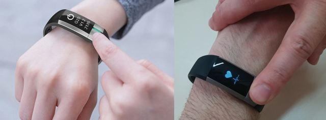 Браслеты с тонометром для измерения давления во время тренировки