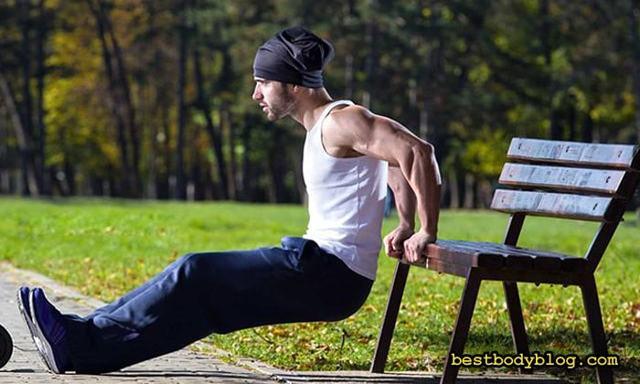 Как накачать трицепс: топ 10 упражнений для трицепса в домашних условиях