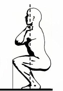 Фронтальные приседания со штангой, в Смите и с гантелями: техника