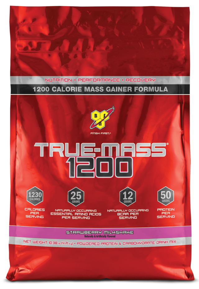 Гейнер bsn true mass и true mass 1200: состав и как принимать Тру Масс