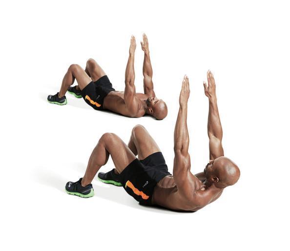 Подъем ног лежа на спине для пресса – польза и техника выполнения упражнения