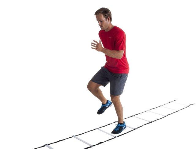 Координационная лестница: применение, польза, комплекс упражнений и топ 8 производителей