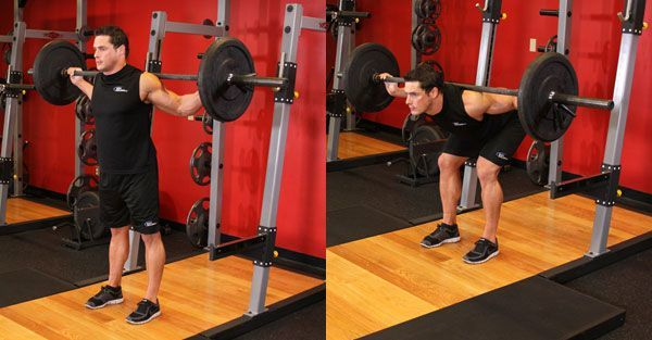 Наклоны со штангой: техники и версии упражнения.