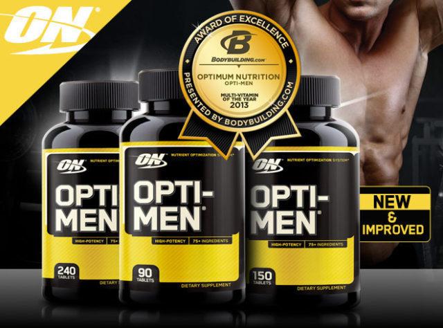 Витамины Оптимен (opti men): состав и как принимать комплекс