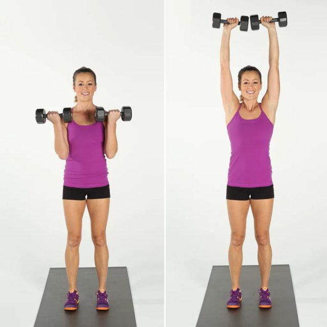 Лучшие упражнения на ноги с гантелями для мужчин и женщин