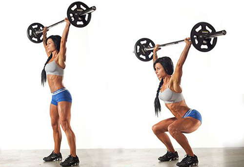 Базовые упражнения на все группы мышц для набора мышечной массы