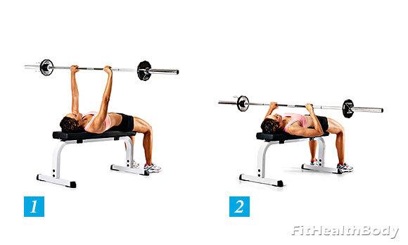Как накачать грудь девушке: топ 5 упражнений для грудных мышц для женщин
