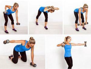 Упражнения для похудения спины: как убрать складки жира на спине женщинам и мужчинам