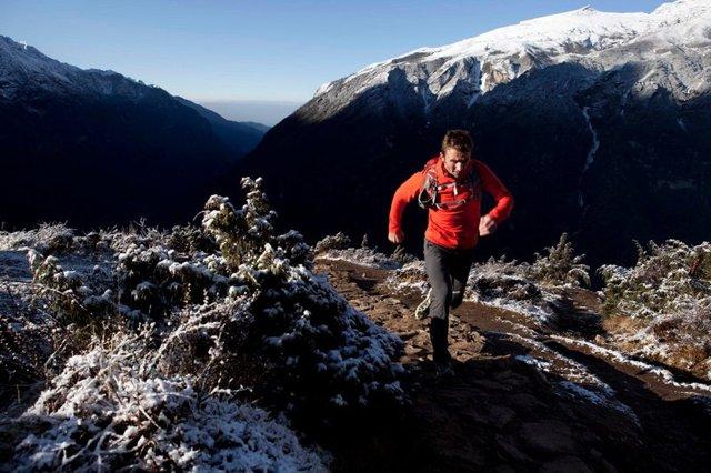 Динамичное упражнение «альпинист» для пресса