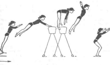 Прыжок через козла – преимущества, виды и фазы выполнения