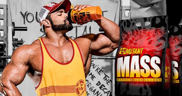 Гейнер mutant mass (Мутант Масс): состав, преимущества, как принимать