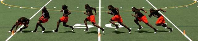 Челночный бег: техника выполнения 3х10, 10х10 и другие варианты