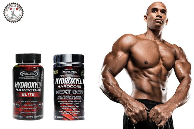 Жиросжигатель гидроксикат (hydroxycut hardcore elite) от muscletech