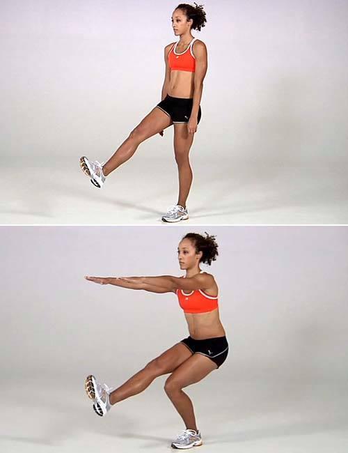 Как девушке уменьшить икры на ногах: упражнения и рекомендации